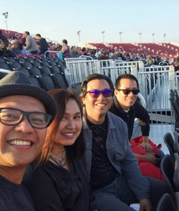 Rolando attended Jack's 13th Show with 311, Third Eye Blind, Stone Temple Pilots, Neon Trees, Everclear and Alien Ant Farm on Oct 14th 2018 via VetTix