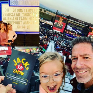Anne attended Jack's 13th Show with 311, Third Eye Blind, Stone Temple Pilots, Neon Trees, Everclear and Alien Ant Farm on Oct 14th 2018 via VetTix
