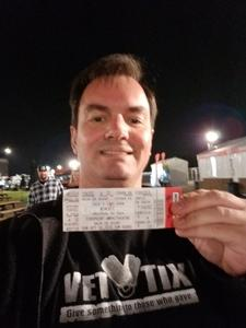 jeff attended Jack's 13th Show with 311, Third Eye Blind, Stone Temple Pilots, Neon Trees, Everclear and Alien Ant Farm on Oct 14th 2018 via VetTix