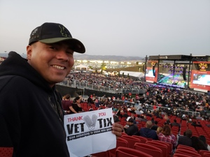 Edgar attended Jack's 13th Show with 311, Third Eye Blind, Stone Temple Pilots, Neon Trees, Everclear and Alien Ant Farm on Oct 14th 2018 via VetTix