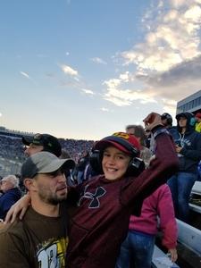 Joshua attended 2018 Martinsville Speedway First Data 500 on Oct 28th 2018 via VetTix