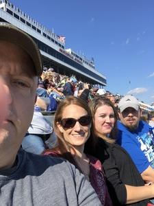August attended 2018 Martinsville Speedway First Data 500 on Oct 28th 2018 via VetTix