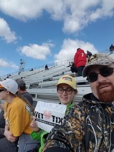 Michael attended 2018 Martinsville Speedway First Data 500 on Oct 28th 2018 via VetTix