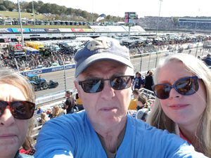 Christopher attended 2018 Martinsville Speedway First Data 500 on Oct 28th 2018 via VetTix
