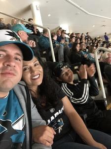 Rigoverto attended San Jose Sharks vs. Columbus Blue Jackets - NHL on Nov 1st 2018 via VetTix