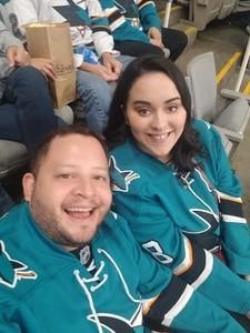 Jordan attended San Jose Sharks vs. Columbus Blue Jackets - NHL on Nov 1st 2018 via VetTix