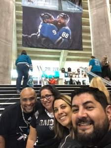 Edward C. Matias attended San Jose Sharks vs. Columbus Blue Jackets - NHL on Nov 1st 2018 via VetTix