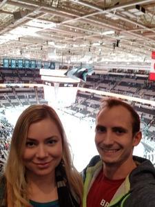 Cameron attended San Jose Sharks vs. Columbus Blue Jackets - NHL on Nov 1st 2018 via VetTix