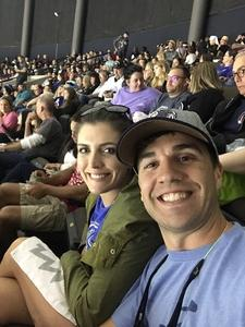 Sean attended Jacksonville Icemen vs. South Carolina Stingrays - ECHL on Oct 13th 2018 via VetTix