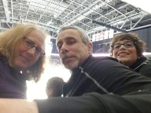 Kendra attended Jacksonville Icemen vs. South Carolina Stingrays - ECHL on Oct 13th 2018 via VetTix