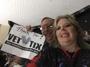 Joseph attended Jacksonville Icemen vs. South Carolina Stingrays - ECHL on Oct 13th 2018 via VetTix