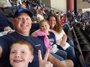 Anthony attended Jacksonville Icemen vs. South Carolina Stingrays - ECHL on Oct 13th 2018 via VetTix