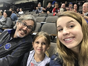 Fisher family attended Jacksonville Icemen vs. Florida Everblades - ECHL on Nov 2nd 2018 via VetTix