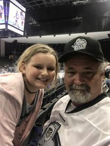 John attended Jacksonville Icemen vs. Florida Everblades - ECHL on Nov 2nd 2018 via VetTix