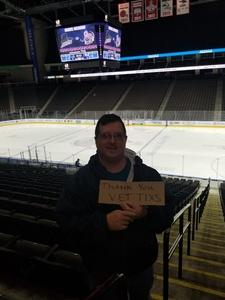 William attended Jacksonville Icemen vs. Florida Everblades - ECHL on Nov 2nd 2018 via VetTix