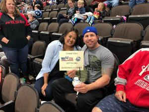 Charles attended Jacksonville Icemen vs. Florida Everblades - ECHL on Nov 2nd 2018 via VetTix