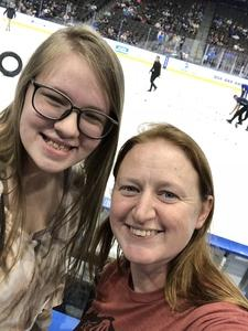 Rebecca attended Jacksonville Icemen vs. Florida Everblades - ECHL on Nov 2nd 2018 via VetTix