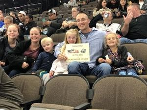 Perry attended Jacksonville Icemen vs. Florida Everblades - ECHL on Nov 2nd 2018 via VetTix