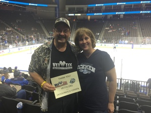 George attended Jacksonville Icemen vs. Florida Everblades - ECHL on Nov 2nd 2018 via VetTix