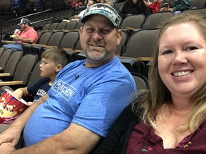 Melissa attended Jacksonville Icemen vs. Florida Everblades - ECHL on Nov 2nd 2018 via VetTix