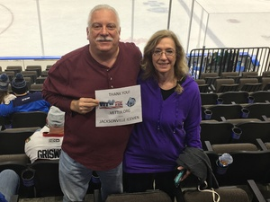 Louis attended Jacksonville Icemen vs. Florida Everblades - ECHL on Nov 2nd 2018 via VetTix