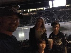 Brian attended Jacksonville Icemen vs. Florida Everblades - ECHL on Nov 2nd 2018 via VetTix