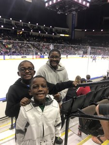Shelley attended Jacksonville Icemen vs. Florida Everblades - ECHL on Nov 2nd 2018 via VetTix