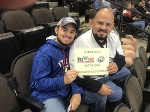 Jesus attended Jacksonville Icemen vs. Florida Everblades - ECHL on Nov 2nd 2018 via VetTix