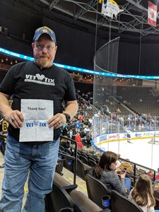 Timothy attended Jacksonville Icemen vs. Florida Everblades - ECHL on Nov 3rd 2018 via VetTix