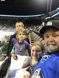 John attended Jacksonville Icemen vs. Florida Everblades - ECHL on Nov 3rd 2018 via VetTix