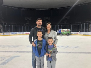 Don attended Jacksonville Icemen vs. Florida Everblades - ECHL on Nov 3rd 2018 via VetTix