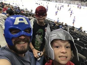 Christopher attended Jacksonville Icemen vs. Florida Everblades - ECHL on Nov 3rd 2018 via VetTix