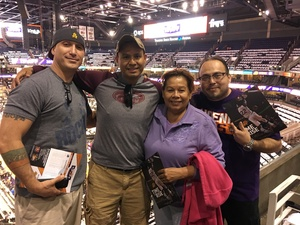 Jesus attended Phoenix Suns vs. Dallas Mavericks - NBA on Oct 17th 2018 via VetTix