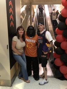 Thomas attended Phoenix Suns vs. Dallas Mavericks - NBA on Oct 17th 2018 via VetTix