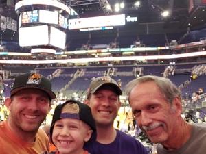 Eric attended Phoenix Suns vs. Dallas Mavericks - NBA on Oct 17th 2018 via VetTix