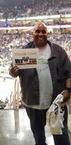 Ken attended Phoenix Suns vs. Dallas Mavericks - NBA on Oct 17th 2018 via VetTix