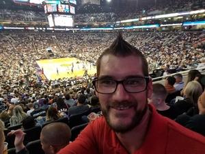 Chandler attended Phoenix Suns vs. Dallas Mavericks - NBA on Oct 17th 2018 via VetTix