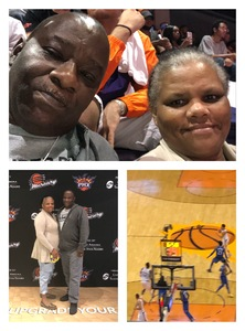 Ronald attended Phoenix Suns vs. Dallas Mavericks - NBA on Oct 17th 2018 via VetTix