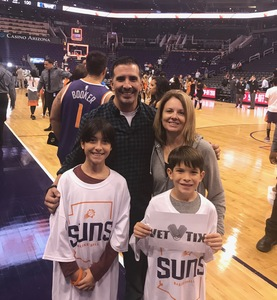 Ric attended Phoenix Suns vs. Dallas Mavericks - NBA on Oct 17th 2018 via VetTix