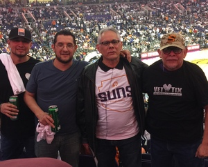 Steve F. Mora attended Phoenix Suns vs. Dallas Mavericks - NBA on Oct 17th 2018 via VetTix