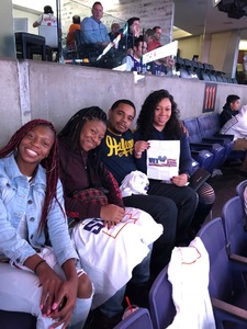ladequa attended Phoenix Suns vs. Dallas Mavericks - NBA on Oct 17th 2018 via VetTix