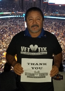 Lorenzo attended Phoenix Suns vs. Dallas Mavericks - NBA on Oct 17th 2018 via VetTix