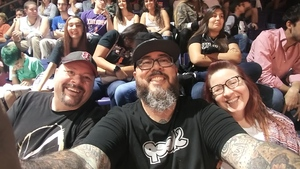 Julian attended Phoenix Suns vs. Dallas Mavericks - NBA on Oct 17th 2018 via VetTix