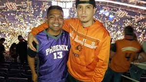 Armando attended Phoenix Suns vs. Dallas Mavericks - NBA on Oct 17th 2018 via VetTix