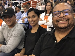 Ricardo attended Phoenix Suns vs. Dallas Mavericks - NBA on Oct 17th 2018 via VetTix