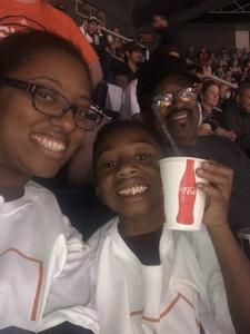 Nasir attended Phoenix Suns vs. Dallas Mavericks - NBA on Oct 17th 2018 via VetTix