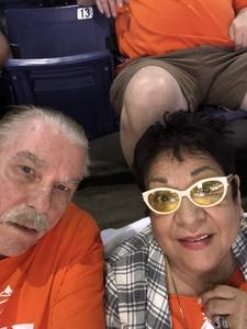 Charles attended Phoenix Suns vs. Dallas Mavericks - NBA on Oct 17th 2018 via VetTix