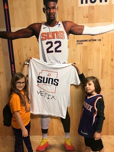 Michael attended Phoenix Suns vs. Dallas Mavericks - NBA on Oct 17th 2018 via VetTix