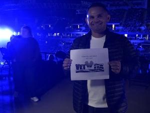 William attended Keith Urban: Graffiti U Tour on Oct 13th 2018 via VetTix