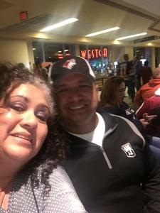Anthony attended Arizona Coyotes vs. Vancouver Canucks - NHL on Oct 25th 2018 via VetTix